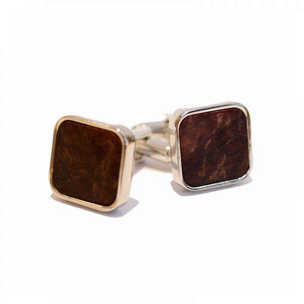 Wooden Cufflinks2