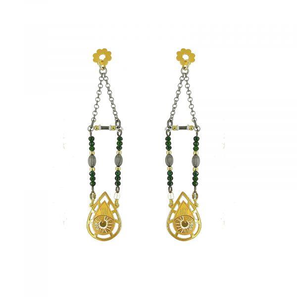 Earring_silver_gold