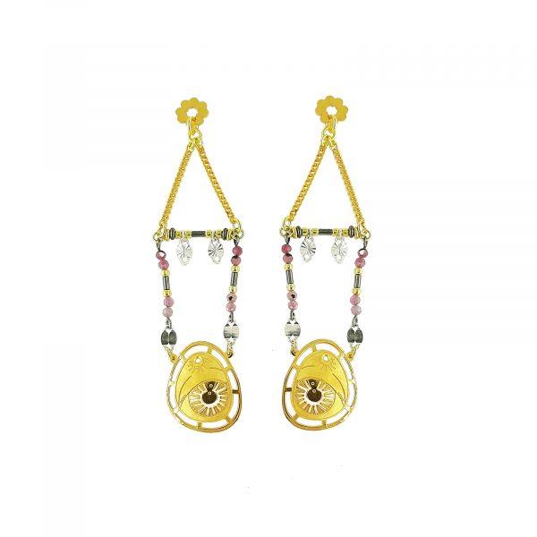 Earring_silver_gold_big